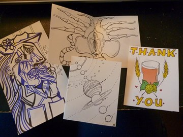 More thank you cards!