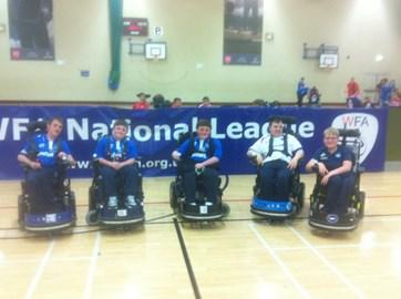 The Pompey Powerchair team