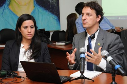 Transform's Lisa Sanchez and Steve Rolles, on a recent visit to Uruguay, where they advised the country's government on its plans to legally regulate cannabis