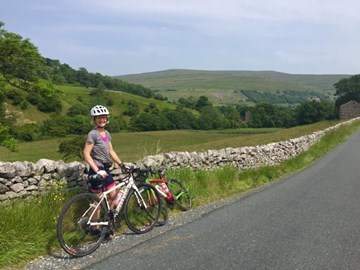 90miles of training this weekend with Caroline. Yorkshire is beautiful!