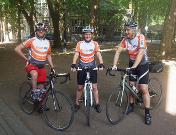 During the 2013 LEJOG ride4OCD