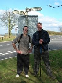 Aaron Wallis 3 Peaks Training Walk