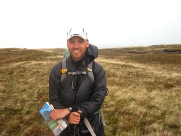 myself on Carn Fawr