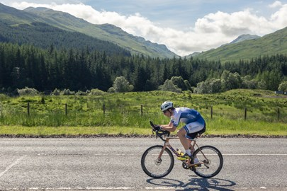 During the final 250 mile training ride from Tayinloan in Argyll to Aberdeen on 20 June '17