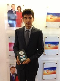 Zafar received the 'Flood Hero' award on Friday 14th March during ITV Daybreak
