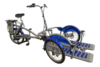 Van Raam Velo Plus Electric Wheelchair Transporter Bike