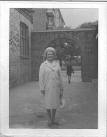 Grandma at church 1972