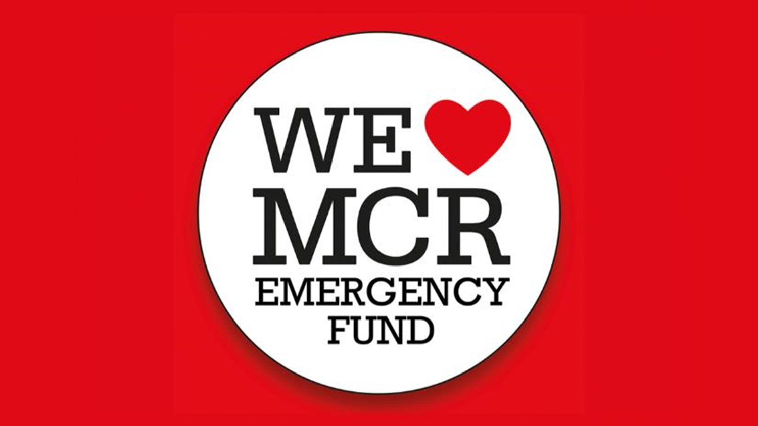 Image result for we love manchester emergency fund