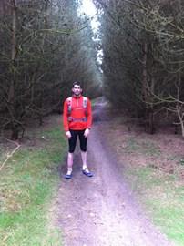 10 mile trail run, through Thetford Forest