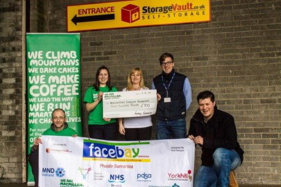 Donation of £900 1/4/14