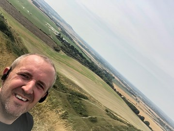 Conquering Ivinghoe Beacon