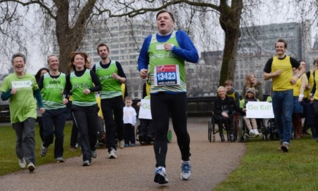Running with Ed Balls