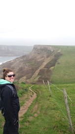 The first part of my training March 19th 6 miles from Worth Matravers & back.  This is taken near St Aldhelms head