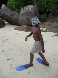 Snorkeling at Creole Day