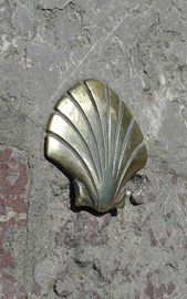 A Shell marks The Way of Saint James