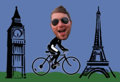 Chris on a Bike!