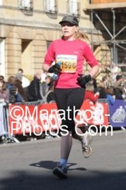 completing bath half marathon 7 mar 2010