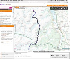 Route miles 40-50