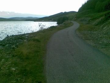 Loch Navar on  route to Altnaharra