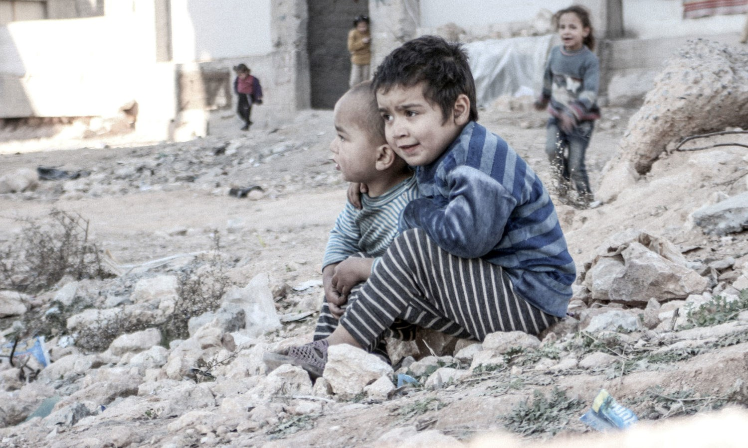 Syria Winter Safe and Warm Appeal - JustGiving