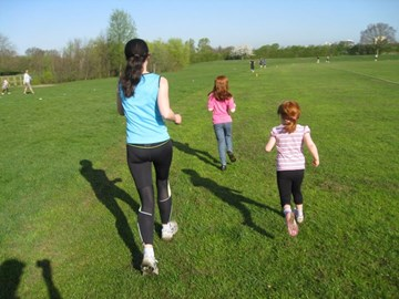 parkrun with my girls