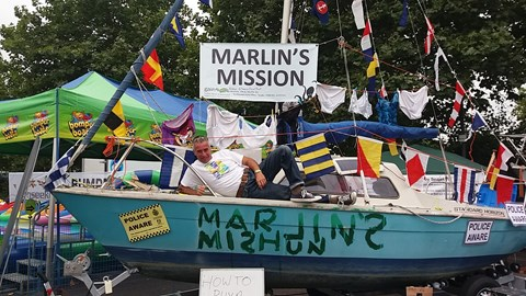 Marlin's Mission at Southampton Boat Show