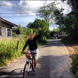 Just finish 100km ride