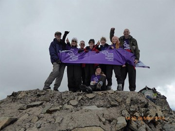 On top of Ben Nevis, 28 May 2014