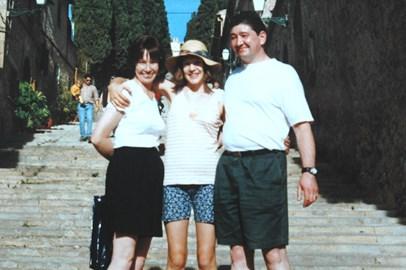Rosie with mum & dad