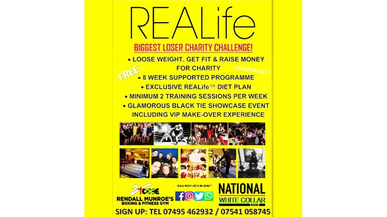 REALife biggest loser Charity weight-loss challenge is