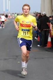 Dom Goggins - 2010 Blackpool Marathon