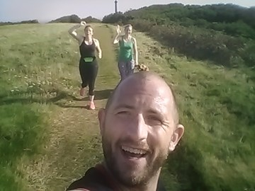 Training for second marathon in Isle of Wight with the marvellous Jess & Louisa!
