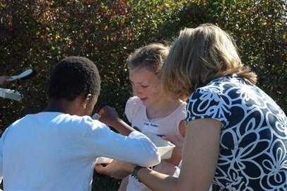 East Haddon primary school visit