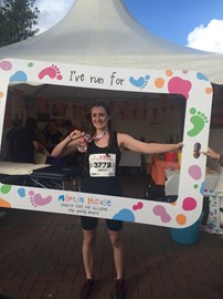 Becky from our Horsforth Office completed the Yorkshire Marathon in 4 hours and 9 minutes