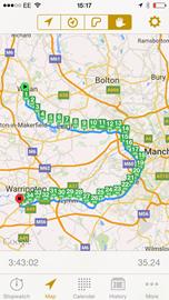 Wigan to Warrington