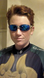 Getting ready for my training ride on 6/29, which was also the Hiddles Fun Run