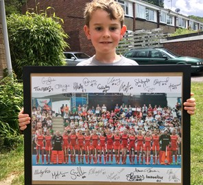 Prize from England Hockey