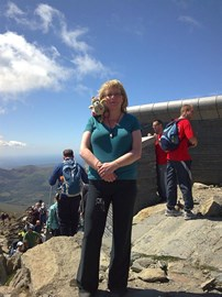 Top of Snowdon!
