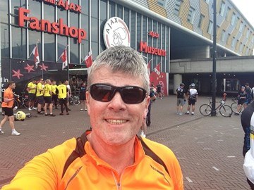 At the Amsterdam Arena