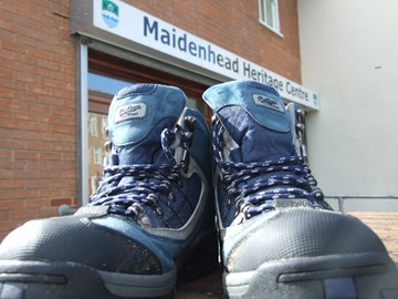 These boots are made for walking - 13 miles!