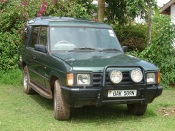 the old Landrover in better days!