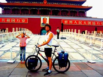 Infront of the Forbidden City, Beijing
