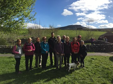 2nd Training Walk - Pen y Ghent