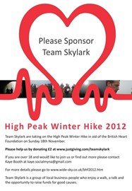 BHF Poster displayed at Space4Work