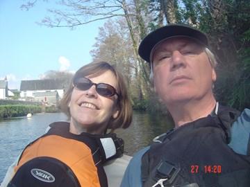 River paddling - good training