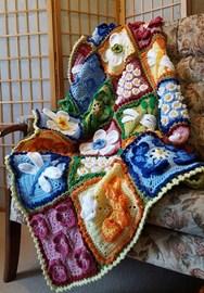 Secret Garden Blanket