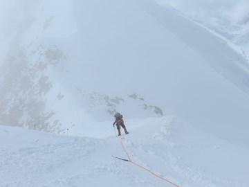 A training climb