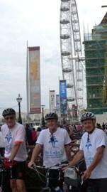 The start - London Eye