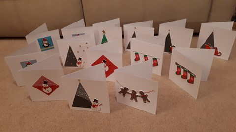 Cards for the craft stall