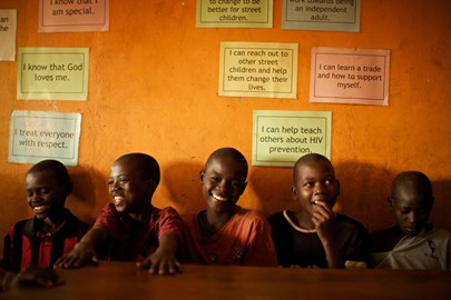 Retrak gets homeless kids off the streets and into education